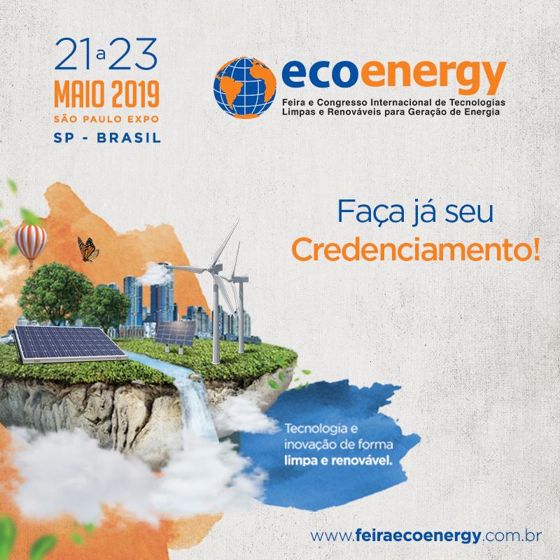 Faça seu Credenciamento para a Feira Ecoenergy 2019