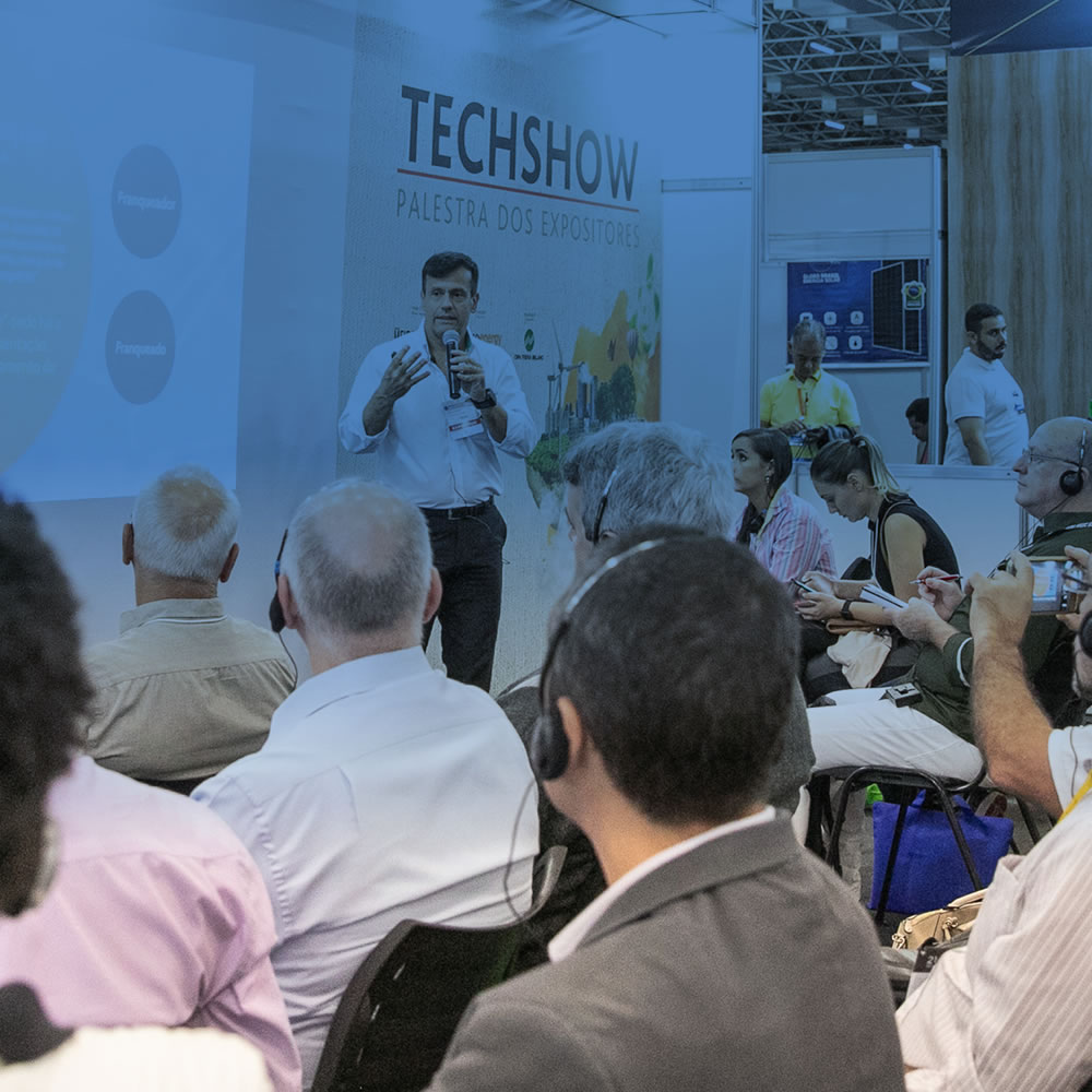 Techshow - Palestra dos Expositores